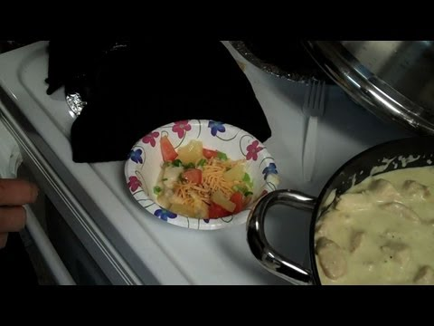 Yummy Dinner: Chicken Haystacks