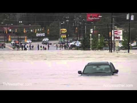 CATASTROPHIC Flash Flood in Columbia, SC!