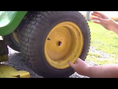 Remove Lawn Tractor Wheel Without Damaging Cap