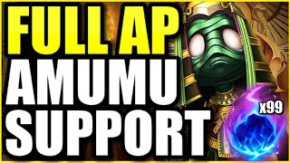 (INSANE GAME!) They underestimated my FULL AP Amumu Support.. they won't make that mistake again ;)