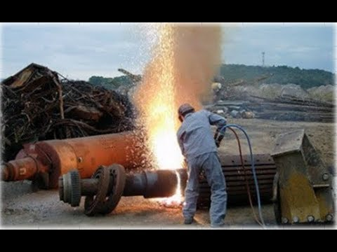 Heavy Duty Gas Cutting | Gas Welding | Awesome welding technology