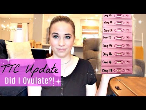 OVULATION TEST PROGRESSION + BASAL BODY TEMPERATURE | TTC UPDATE 2018