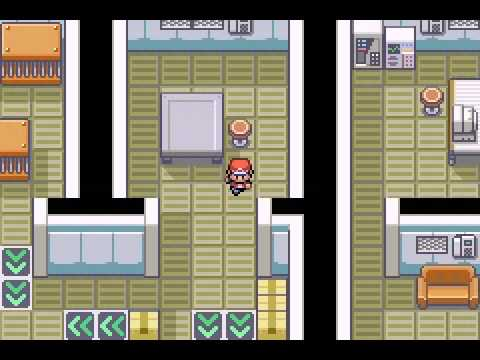 Pokemon Fire Red - Team Rocket Warehouse