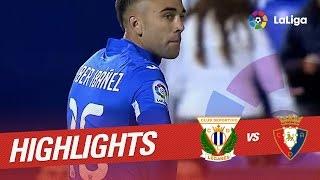 Resumen de CD Leganés vs Osasuna (2-0)
