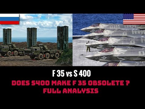 DOES S400 MAKES F 35 OBSOLETE ? FULL ANALYSIS