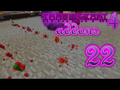 Minecraft - Thaumcraft 4 Addons #22 - Redcrystal