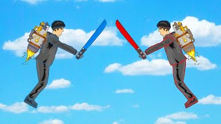 EXTREME JETPACK FIGHT! (Happy Wheels #45)