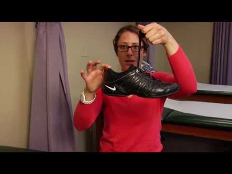 Prevent shin splints by lacing shoes better