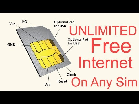 FREE UNLIMITED INTERNET ON ANY SIM CARD NEW TRICK 2017 THE BEST WAY!!!