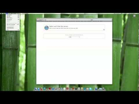 How to set your Home Page on Safari (Mac)