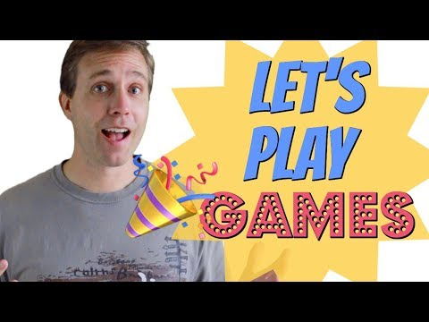 Learn English with GAMES (LET'S PLAY) | Super Fun Lesson
