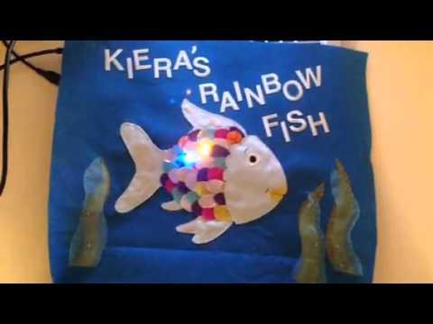 Lilypad Arduino - Rainbowfish Twinkle Bag