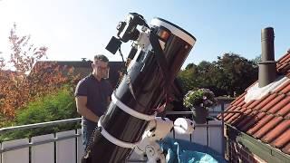 Solar Observation through my Telescope
