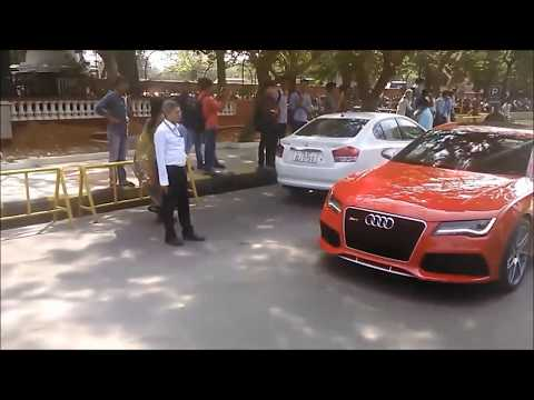 Epic Super cars coming out of Auto show 6.0 chennai - Part 1
