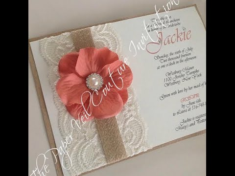 The Most Gorgeous Lace Quince Invites of the Web!
