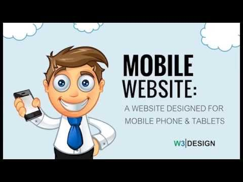 Mobile Website Advert W3 Design Hamilton New Zealand