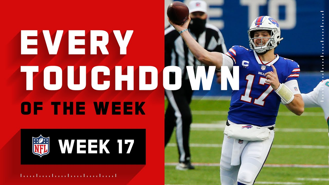 Every Touchdown of Week 17 | NFL 2020 Highlights