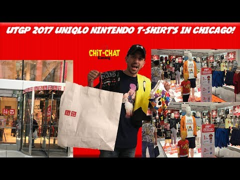 UTGP '17  UNIQLO Nintendo T-shirt's in Chicago!
