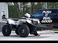 Polaris Sportsman 570 - Glacier Snow Plow Review and Operation