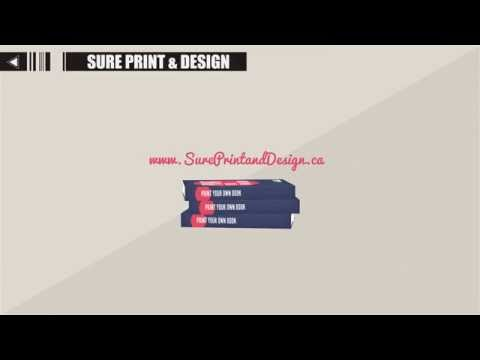 Book Printing & Commercial Printing - Sure Print & Design