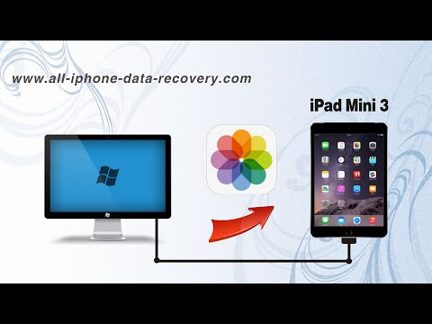 How to Transfer Photos from Computer to iPad Mini 3, Import Pictures to iPad Mini 3