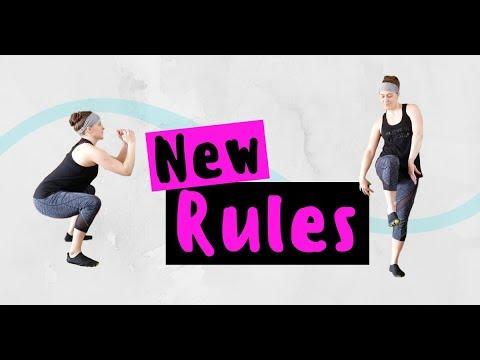 Dua Lipa New Rules - HIIT Dance Fitness Zumba Legs + Glutes Workout   Fit Body Beats