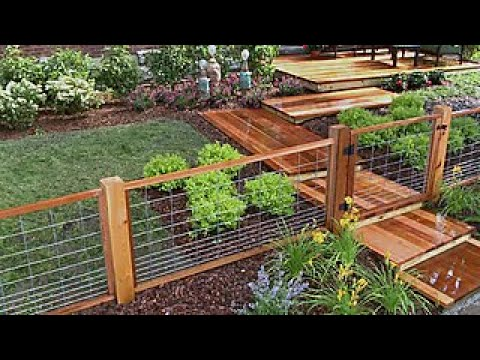 How to Install a Hog Wire Fence - DIY Network