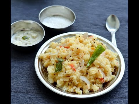 Rava upma recipe - Sooji Upma - How to make upma -Indian breakfast Recipes