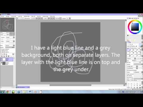 How Layers Work (Beginner) - Paint Tool Sai