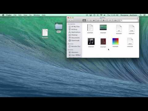 How to Show File Extensions in OS X