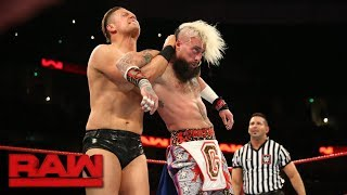 Enzo Amore vs. The Miz: Raw, Sept. 11, 2017