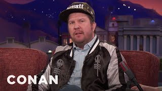 A Black Widow Spider Bit Nick Swardson In His Bed  - CONAN on TBS