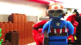 Lego Captain America 2 - Not So 4th of July Special