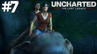 DE PASEO EN ELEFANTE? | Uncharted: The Lost Legacy #7