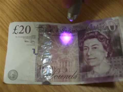 Thames Valley Police - how to spot a fake £20 note
