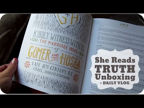 She Reads Truth Unboxing | Daily Vlog 71