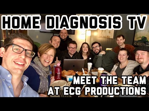 Home Diagnosis TV: the ECG Productions Team