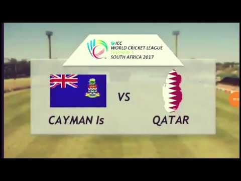 ICC Cricket Tournament - Qatar vs Cayman Is - division 5 league 2017 south africa