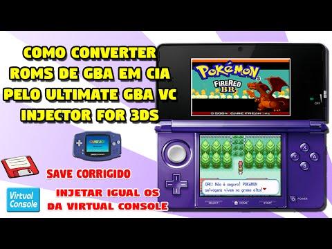 [3DS] Como injetar ROMs de Game Boy Advance como Virtual Console no 3DS (CFW)