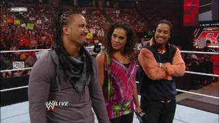 Unified Tag Team Champions The Hart Dynasty find out who