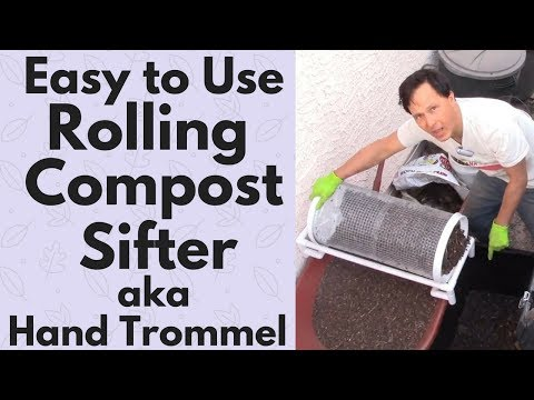 Easy to Use Rolling Compost Sifter aka Hand Trommel Review
