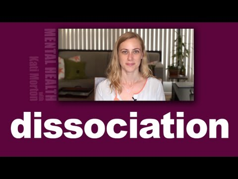 Dissociation, what is it, how do we deal with it? Mental Heath with Kati Morton