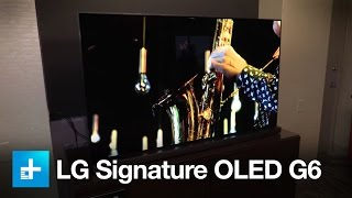 LG Signature OLED G6 - Hands on at CES 2016