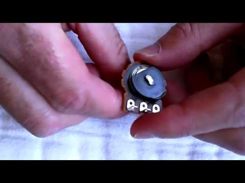 Guitar Potentiometers part 4, Modifying a Tone Pot  to be No Load for True Bypass