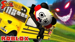 SCARIEST FIELD TRIP IN ROBLOX at Horror High School ! Camping Part 3??