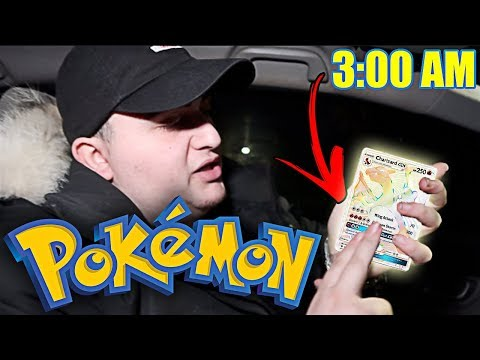 DO NOT UNBOX POKEMON CARDS AT 3 AM | *THIS IS WHY* | POKEMON CARDS FACTORY MALFUNCTION!!
