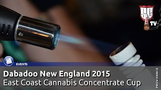 Dabadoo New England 2015 East Coast Cannabis Concentrate Cup Smokers