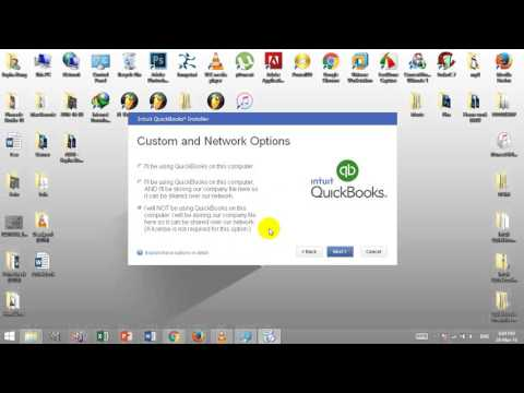 How to install QuickBooks 2015 with key
