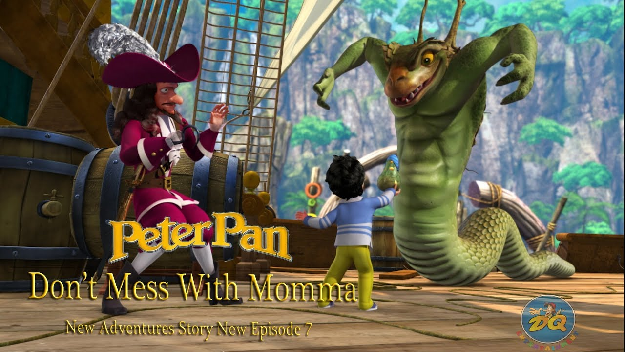 Peter pan Season 2 Episode 7 Don't Mess With Momma | Cartoon |  Video | Online