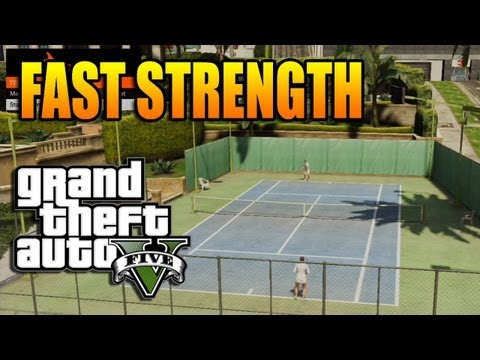 GTA V - How to Get Fast Strength (EASY)